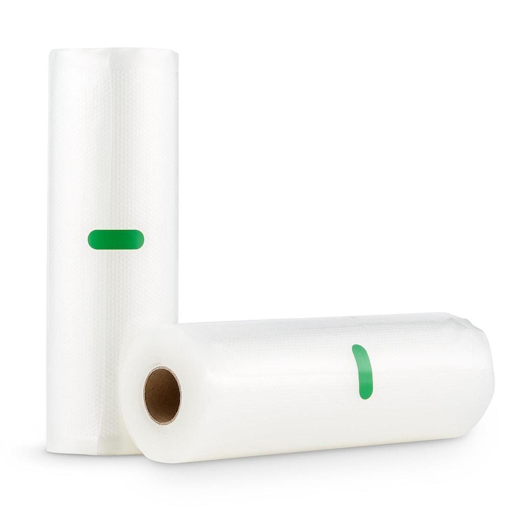 Klarstein Bagpack L Vakuumbeutel Wabenstruktur 2x Folienschlauch »IB Bagpack L«