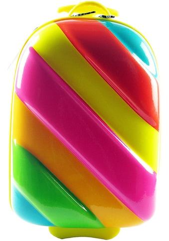 CHIC2000 Kinderkoffer »Boucie, Rainbow«, 2 Rollen, Hartschalen-Trolley kaufen
