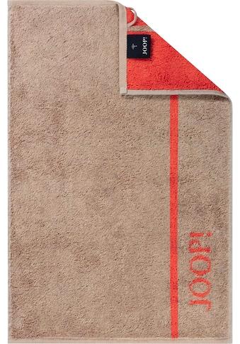 Joop! Gästehandtücher »JOOP! LINES«, (3 St.), in Doubleface-Optik kaufen