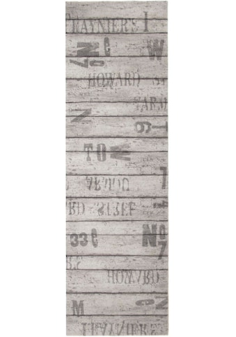 Primaflor-Ideen in Textil Küchenläufer »WOOD«, rechteckig, 6,5 mm Höhe, Holz Motiv,... kaufen