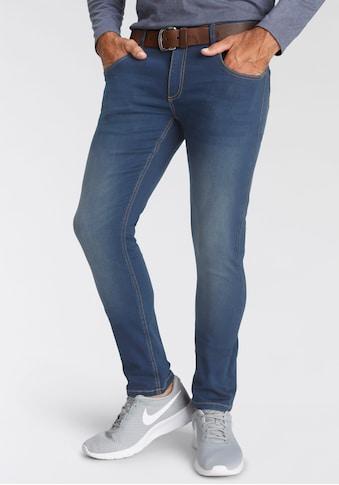 Arizona Slim-fit-Jeans, in Superstretch- Qualität mit Jogginghosen Gefühl kaufen