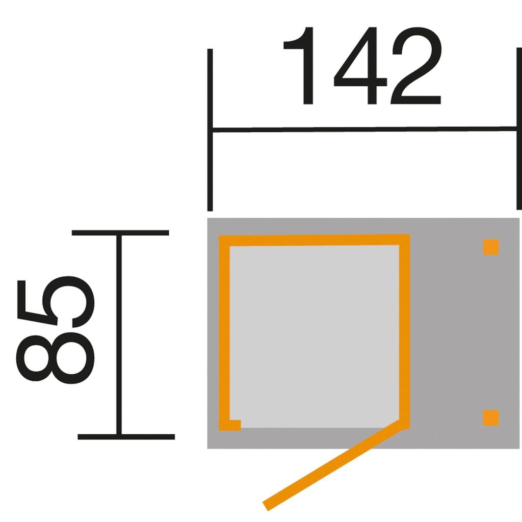 weka Geräteschrank »Gr. 1«, BxTxH: 142x85x196 cm, mit Schleppdach
