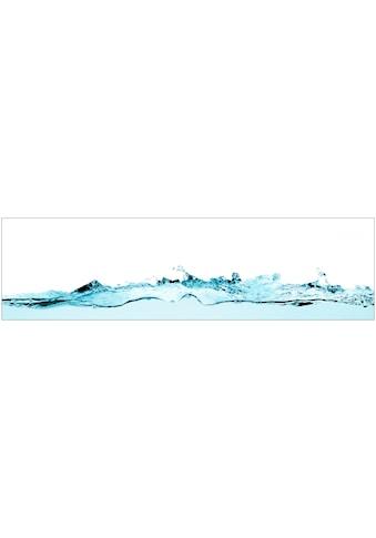 Küchenrückwand  -  Spritzschutz »profix«, Wasser, 220x60 cm kaufen