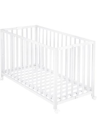 roba® Babybett »Fold Up, weiß«, klappbar kaufen