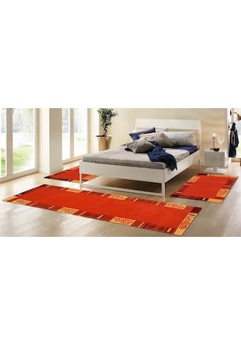 THEKO Bettumrandung »Ambadi«, Bettvorleger, Läufer-Set für das Schlafzimmer, reine... kaufen