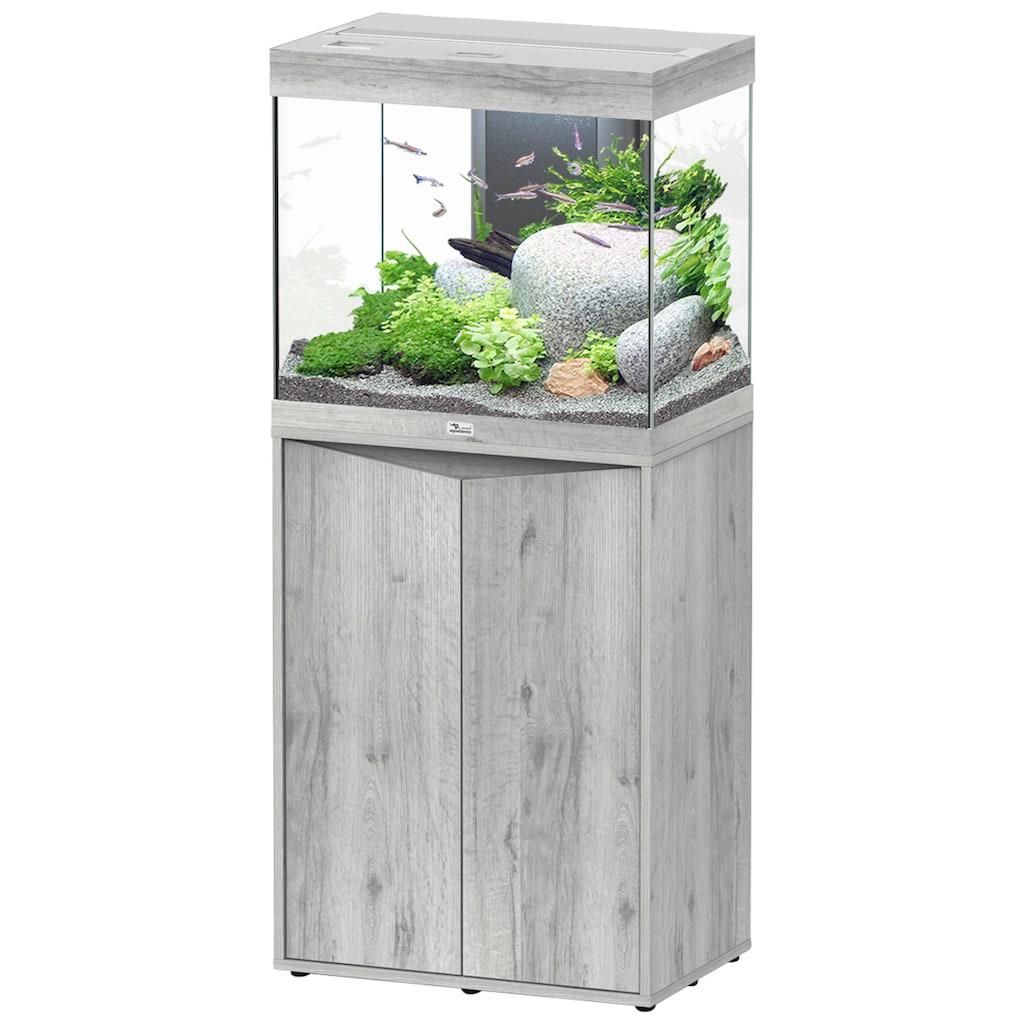 Aquatlantis Aquarien-Set »Splendid 110«, BxTxH: 60x40x139 cm, 135 l, mit Unterschrank in esche weiß