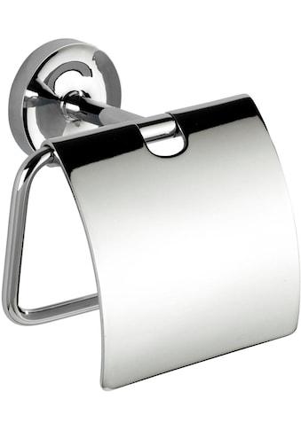 WENKO Toilettenpapierhalter »Arcole«, mit Deckel, Power-Loc kaufen
