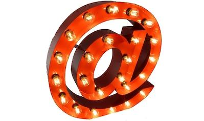 MARQUEE LIGHTS,LED Dekolicht»@ - Zeichen«, kaufen