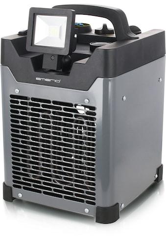 Emerio Heizlüfter »FH-117205«, 3300 W, mit LED-Strahler und Lautsprecher kaufen
