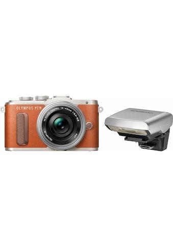 Olympus Systemkamera »E-PL8«, 14-42mm EZ Pancake, 16,1 MP, WLAN (Wi-Fi),... kaufen