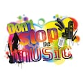 KOMAR Packung: Wandtattoo »Don´t stop the music«, 1-teilig