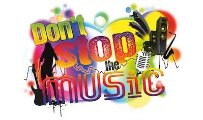 KOMAR Packung: Wandtattoo »Don´t stop the music«, 1 - teilig kaufen