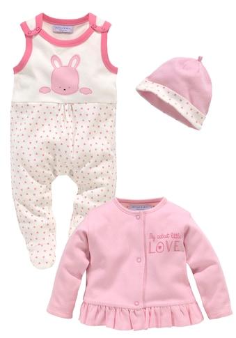 Klitzeklein Strampler, Jäckchen & Mütze »Cute Babygirl«, aus Bio-Baumwolle kaufen