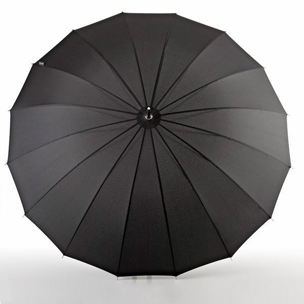Euroschirm, Stockregenschirm ´´Stockschirm Metropolitan®, schwarz´´ | Accessoires > Regenschirme > Stockschirme | Schwarz | Polyester - Metall | EUROSCHIRM®