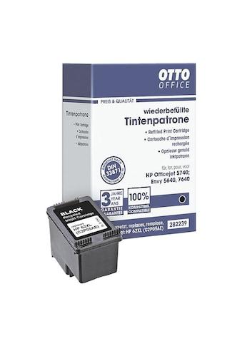 Otto Office Tintenpatrone ersetzt HPs Nr. 62 schwarz XL (HP C2P05A) kaufen
