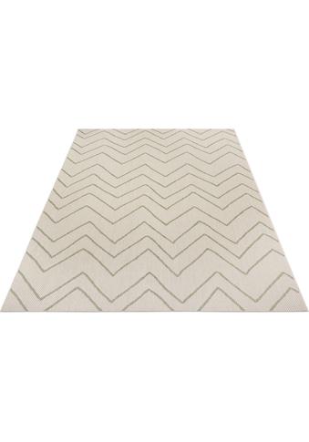my home Teppich »Mailin«, rechteckig, 3 mm Höhe, In- und Outdoor geeignet, Wohnzimmer kaufen