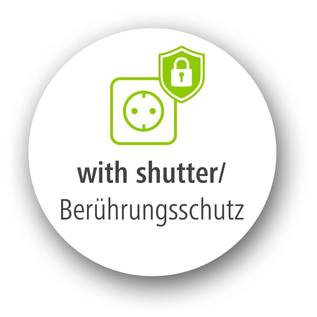 Hama Steckdosenleiste »1,4 m, Weiß«, (Kindersicherung-Schutzkontaktstecker Kabellänge 140 m), 6-fach, mit Schalter