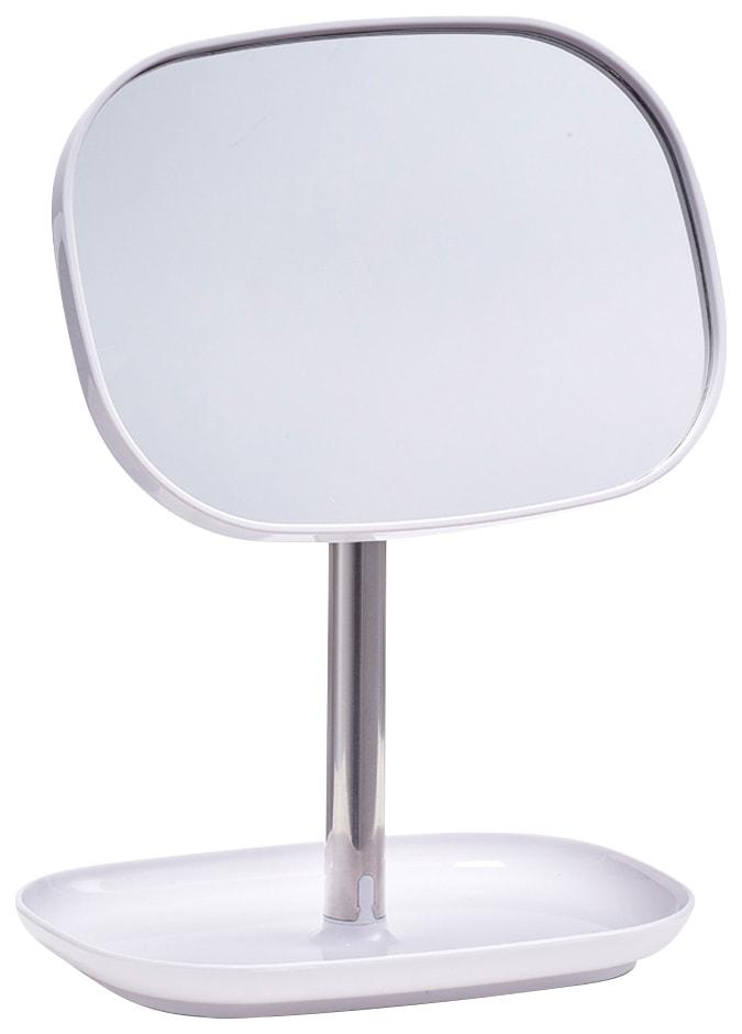ZELLER Kosmetikspiegel | Bad > Bad-Accessoires > Kosmetikspiegel | Weiß | Glas | Zeller Present