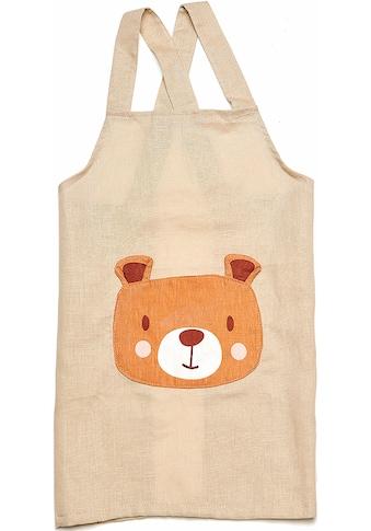 ThreadBear Kochschürze »Bär«, Kinderschürze aus Leinen kaufen