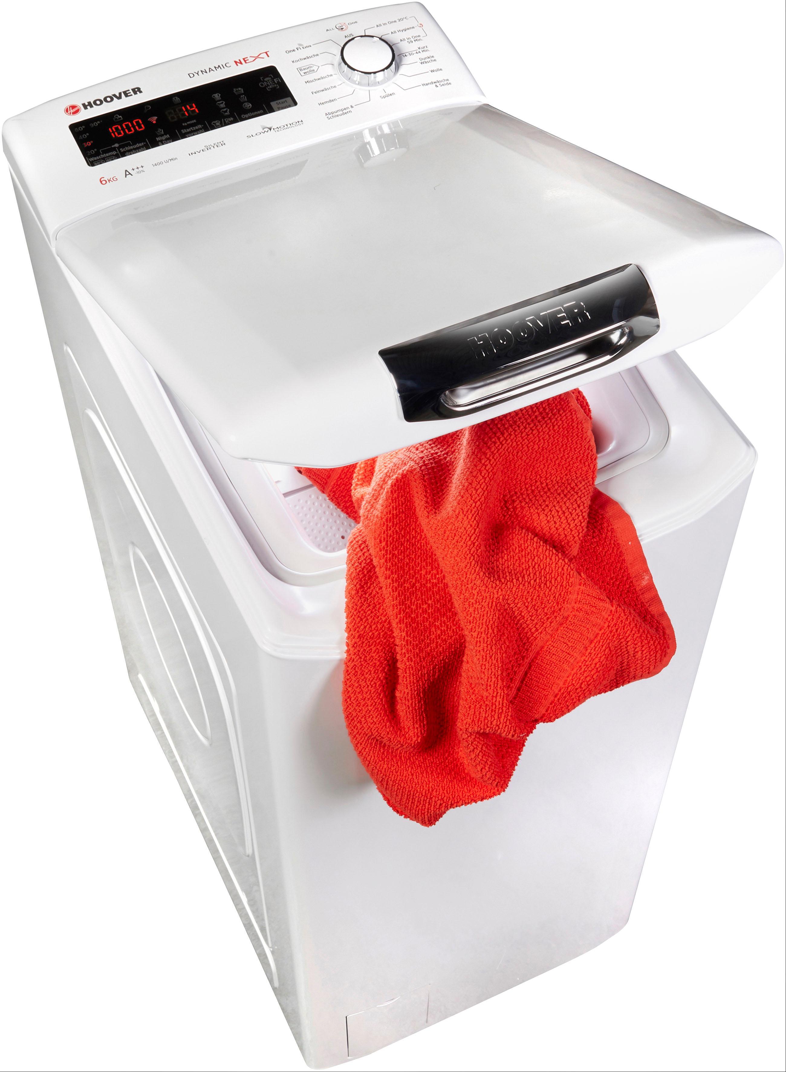 Hoover Waschmaschine Toplader SLFNH G464TAH-84   Bad > Waschmaschinen und Trockner > Toplader   Hoover