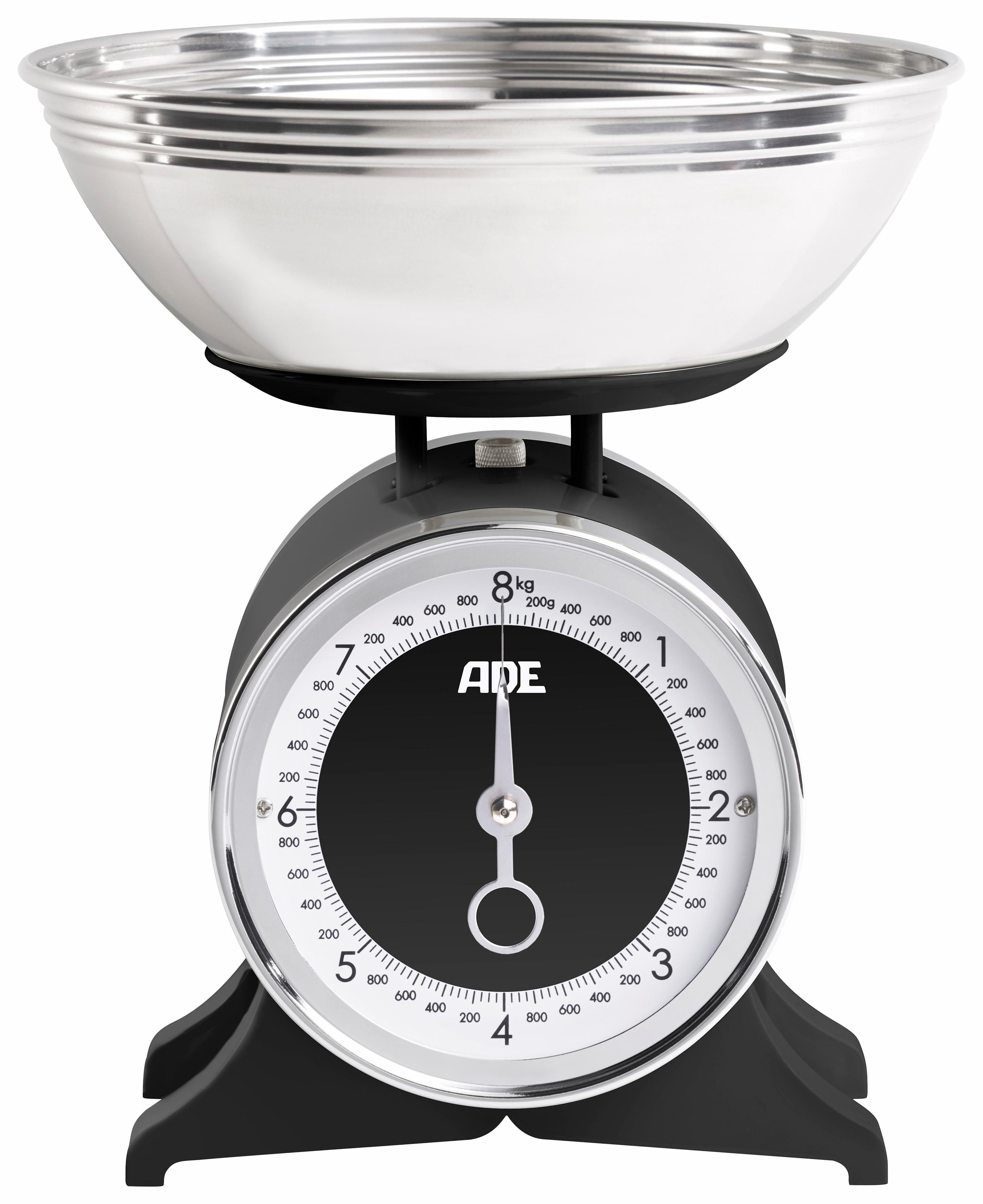 ADE Schüsselwaage ´´ »KM1501 Anna´´ | Küche und Esszimmer > Küchengeräte > Küchenwaagen | Schwarz | Lackiert - Edelstahl | ADE