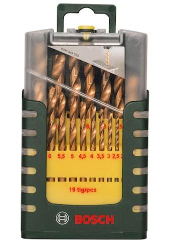BOSCH Metallbohrer »HSS-TiN«, (Set, 19 tlg.) kaufen