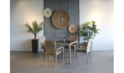 Ploß Gartenstuhl »WINDSOR«, 4er Set, Stahl, klappbar kaufen