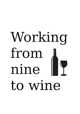 queence Wanddekoobjekt »wine« kaufen