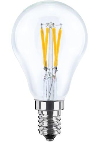 SEGULA LED-Leuchtmittel »Tropfenlampe«, E14, 1 St., Warmweiß, klare LED Lampe, LED Tropfenform, Tropfenlampe klar, dimmbare LED, LED Leuchtmittel klar, LED klassisch, Retro Style LED, LED Vintage kaufen