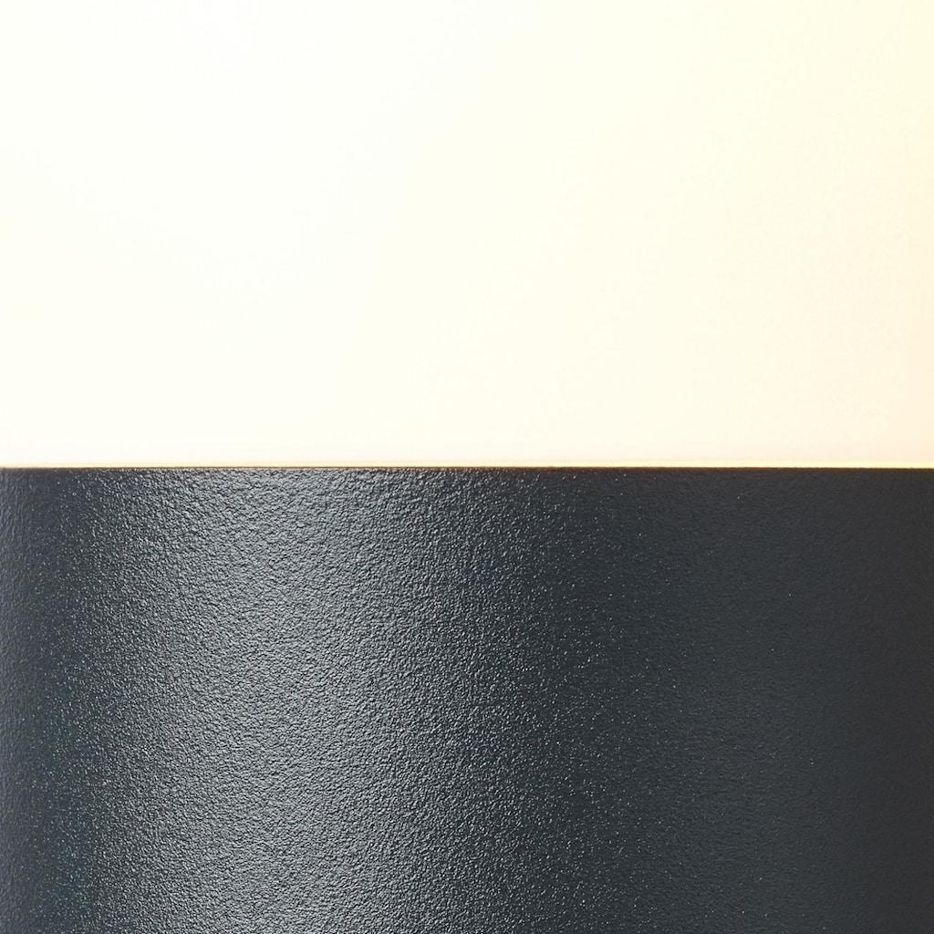 Brilliant Leuchten Außen-Wandleuchte, E27, Aberdeen Außensockelleuchte 30cm anthrazit