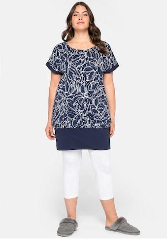 Sheego Shirtkleid, mit seitlichen Eingrifftaschen kaufen