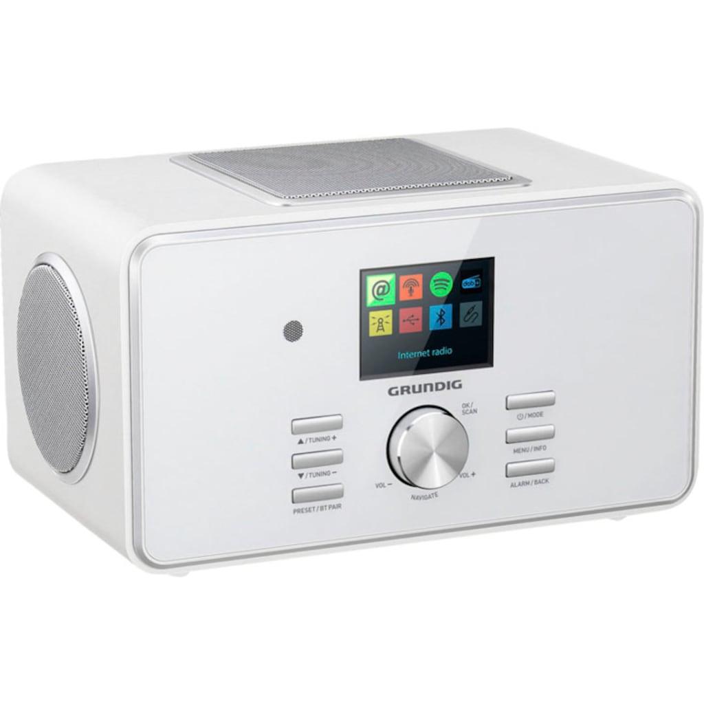 Grundig Digitalradio (DAB+) »DTR 6000 X«, (Bluetooth-WLAN Digitalradio (DAB+)-FM-Tuner mit RDS 28 W)