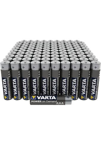 VARTA »POWER ON DEMAND AAA FOL10x10 Postal BOX« Batterie kaufen