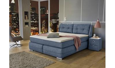 Jockenhöfer Gruppe Boxspringbett, mit Bettkasten, Kaltschaum-Topper und wandelbar zur... kaufen