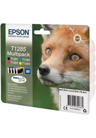 Epson »T1285 Multipack (bl/c/m/y) M DURABRITE ULTRA INK  -  C13T12854012  - « Tintenpatrone kaufen