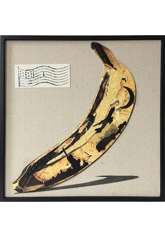 Kayoom Wandbild »Banana«, 42cm x 42cm kaufen