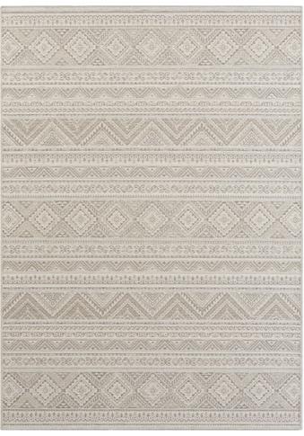 ELLE DECORATION Teppich »Maranao«, rechteckig, 5 mm Höhe, Flachgewebe, Sisal-Optik,... kaufen