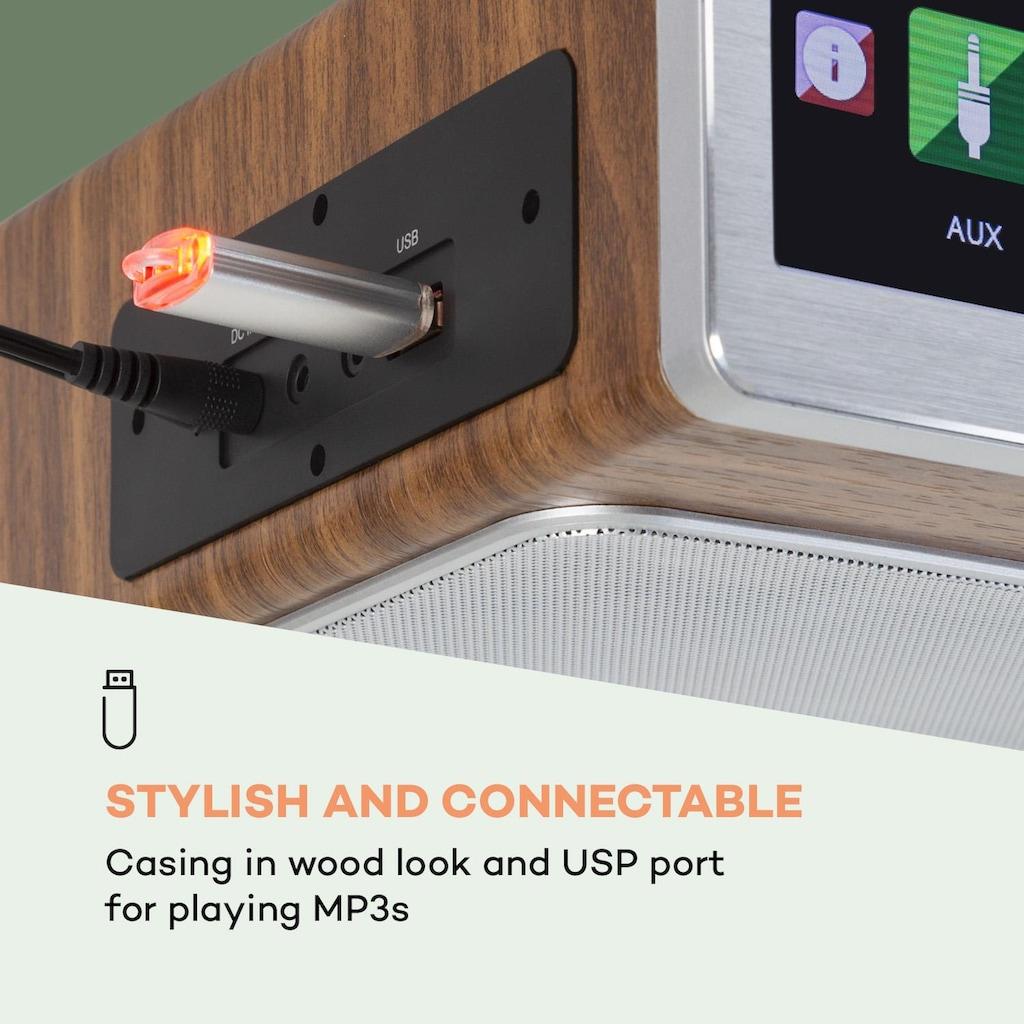 Auna Küchenradio 20W max. CD BT USB Internet/DAB