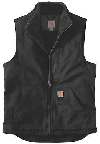 Carhartt Fellweste »WASHED DUCK LINED MOCK NECK VEST«, mit praktischen Fronttaschen kaufen
