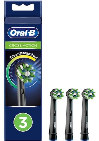 Oral B Aufsteckbürsten Cross Action BLACK CleanMaximizer kaufen