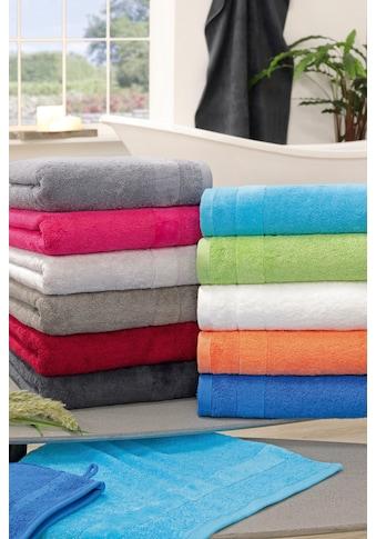 ROSS Handtuch »Brillant«, (2 St.), mit Veloursborde kaufen