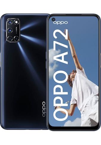 """Oppo Smartphone »A72«, (16,51 cm/6,5 """" 128 GB Speicherplatz, 48 MP Kamera) kaufen"""