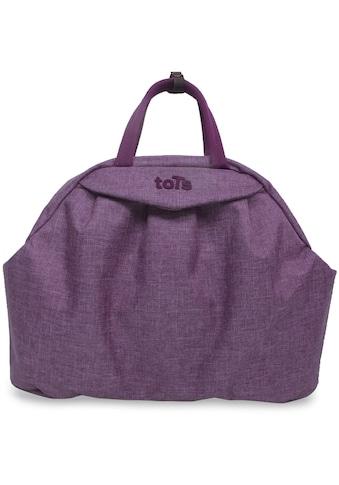 smarTrike® Wickeltasche »toTs Wickeltasche Chic violett meliert«, mit Rucksackfunktion... kaufen