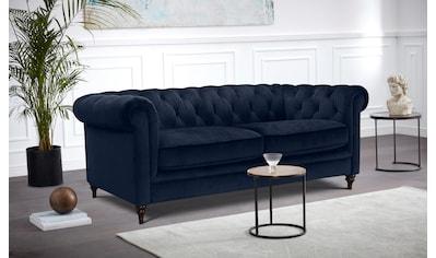 Premium collection by Home affaire Chesterfield-Sofa »Chambal«, mit klassischer Knopfheftung kaufen