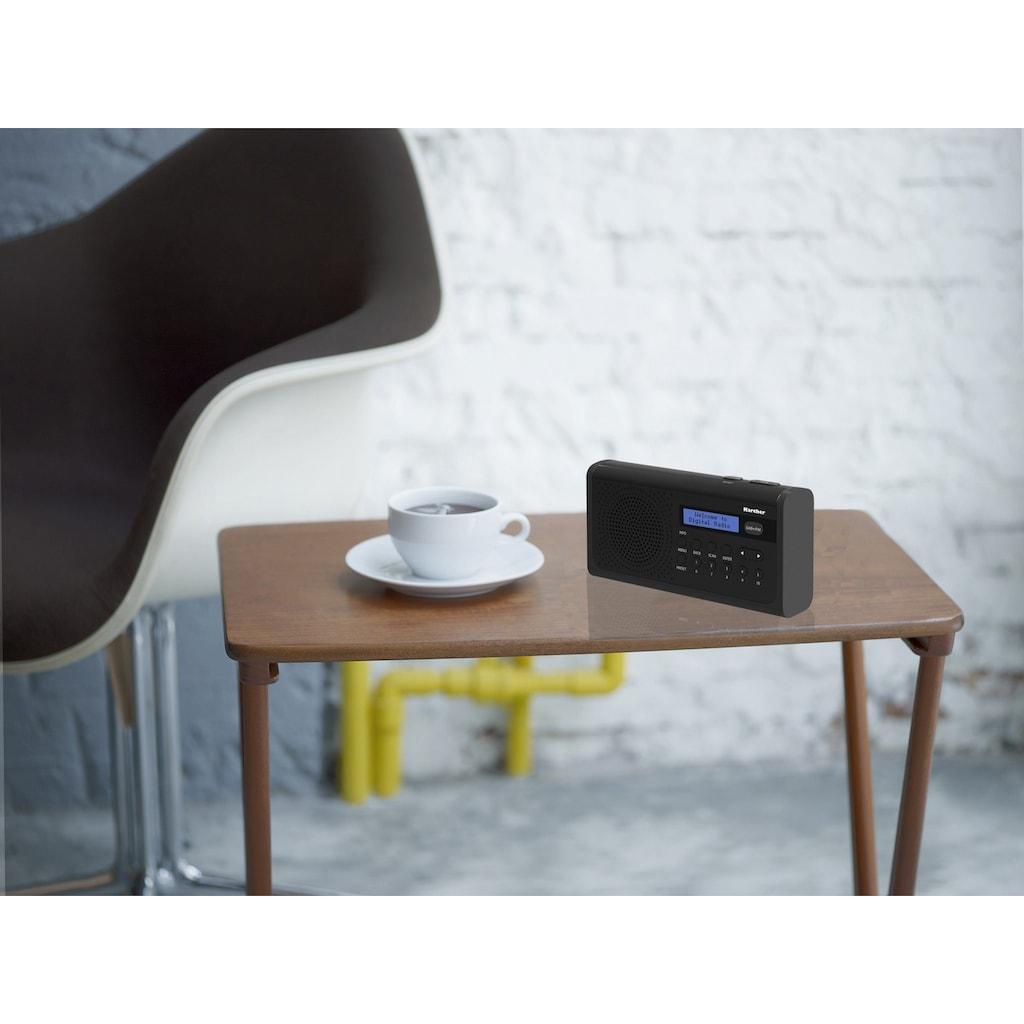 Karcher Digitalradio (DAB+) »DAB 2405«, (Digitalradio (DAB+)-FM-Tuner)