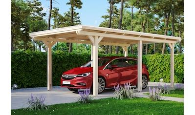 Skanholz Einzelcarport »Emsland«, Holz, 291 cm, natur, versch. Farben kaufen