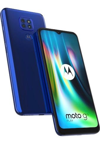 "Motorola Smartphone »moto g9 play«, (17,27 cm/6,5 "" 64 GB Speicherplatz, 48 MP Kamera) kaufen"