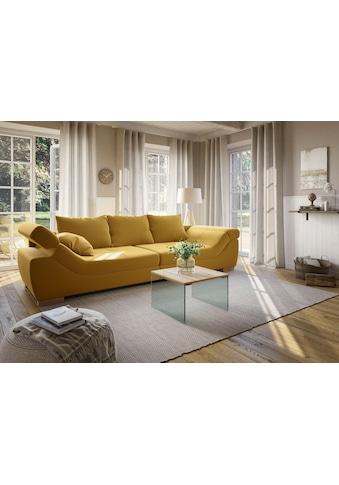 Home affaire Couchtisch »Agnes«, mit schönen Glasbeinen und pflegeleichter... kaufen