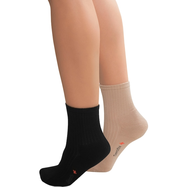 Fußgut Diabetikersocken Sensitiv Socken (2 Paar)