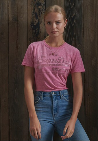 Superdry Print - Shirt »VL TONAL GLITTER TEE« kaufen